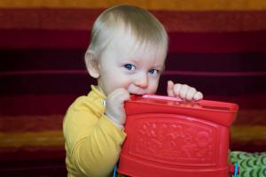 Kinderfotos: Linus, 9 Monate